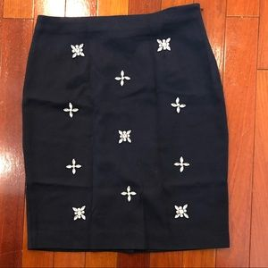 JOA L.A. bejeweled pencil skirt